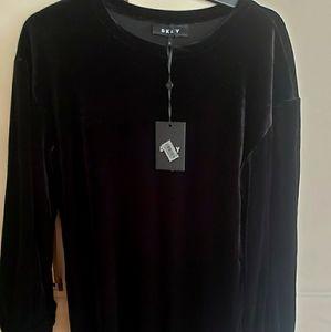 """"""" SALE """" DKNY VELVET DRESS"""